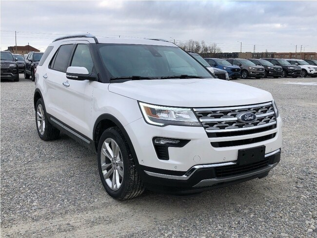 New 2019 Ford Explorer LIMITED 301A SUV near Toronto