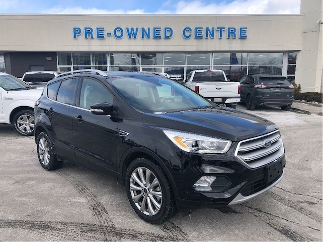 Certified Used 2018 Ford Escape Titanium | 4WD | Ext Warranty | CPO 1.9% 72 Months SUV in Brampton
