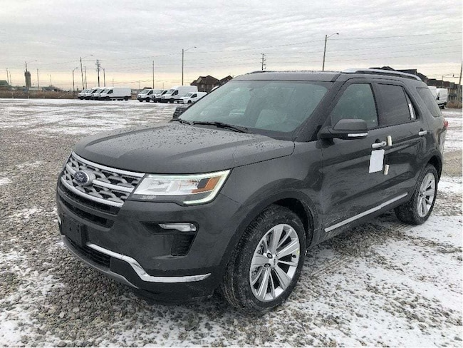 New 2019 Ford Explorer LIMITED 300A   IT'S EASY AT COLONY FORD!! SUV near Toronto