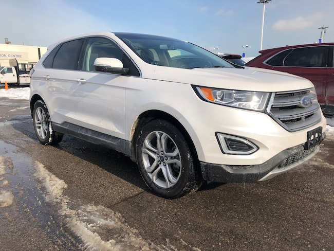 Certified Used 2018 Ford Edge Titanium | AWD | Ext Warranty | CPO 2.9% 24 Months SUV in Brampton