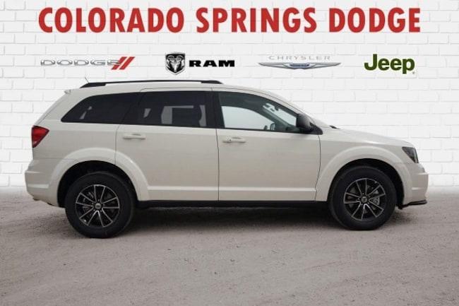 New 2018 Dodge Journey SE AWD Sport Utility in Colorado Springs, CO.
