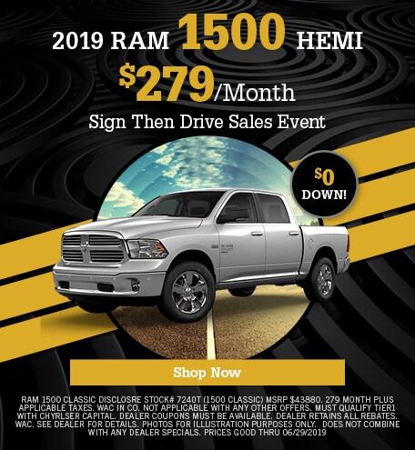 2019 Ram 1500 Hemi  Lease