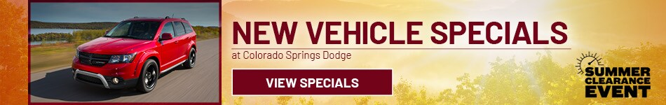 August 2020 New Vehicle Specials