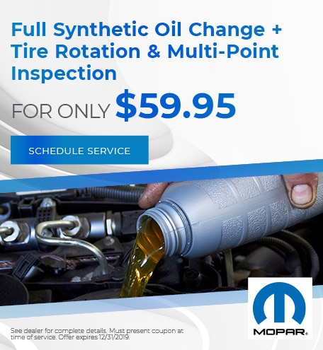 Oil Change Coupons Colorado Springs >> Dodge Service Specials Near Fountain Fort Carson Pueblo