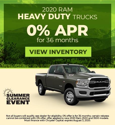 July 2020 Ram Heavy Duty Trucks