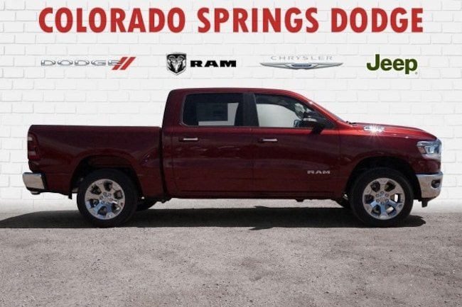 New 2019 Ram 1500 Big Horn Crew Cab in Colorado Springs, CO.