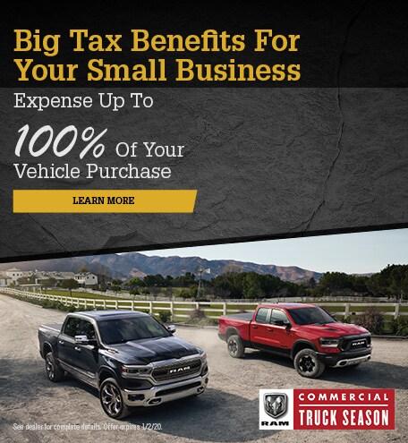 December 2019 Commercial Truck Season Tax Benefits