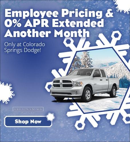 Colorado Springs Dodge >> New Dodge Ram Specials In El Paso County At Colorado