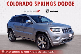 Used 2014 Jeep Grand Cherokee Overland SUV for sale in Colorado Springs CO