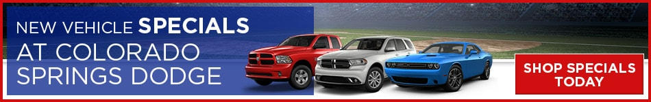 April New Vehicle Specials at Colorado Springs Dodge