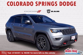 Used 2018 Jeep Grand Cherokee Trailhawk SUV for sale in Colorado Springs CO
