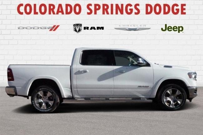 New 2019 Ram 1500 Laramie Crew Cab in Colorado Springs, CO.