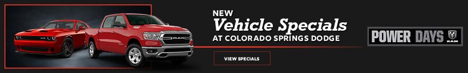October 2020 New Vehicle Specials