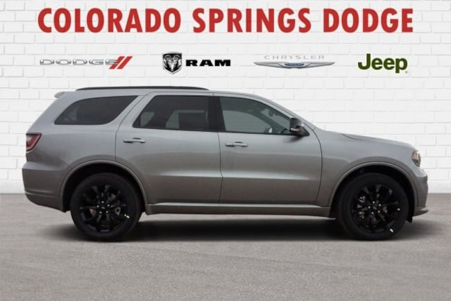 New 2019 Dodge Durango GT PLUS AWD Sport Utility in Colorado Springs, CO.