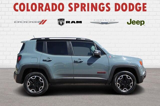 2015 Jeep Renegade Trailhawk SUV