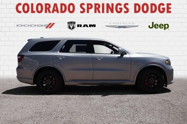 New 2018 Dodge Durango SRT AWD Sport Utility in Colorado Springs, CO.