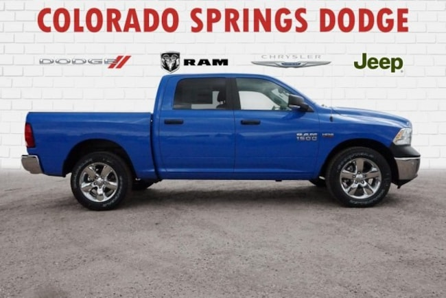 New 2018 Ram 1500 Big Horn Crew Cab in Colorado Springs, CO.