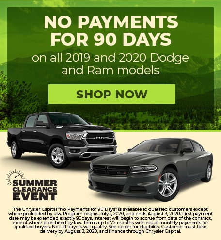 July 2020 No Payments for 90 Days