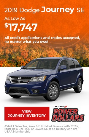 October 2019 Dodge Journey SE