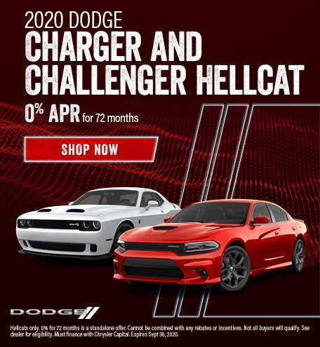 2020 Dodge Charger and Challenger Hellcat