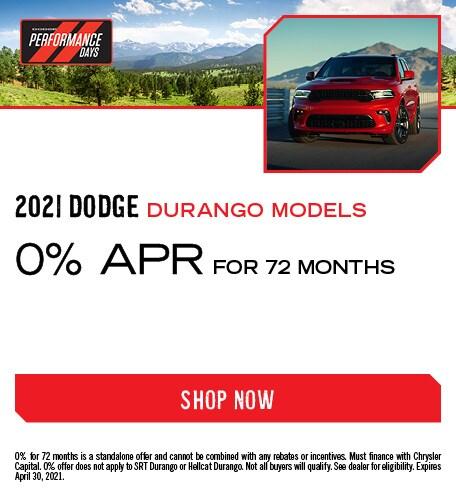 April 2021 Dodge Durango