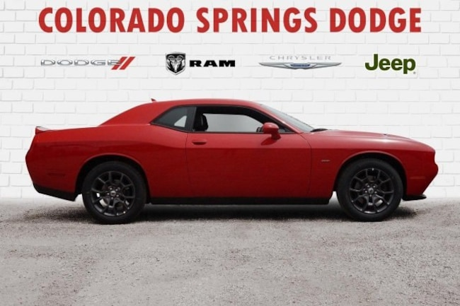 New 2018 Dodge Challenger GT AWD Coupe in Colorado Springs, CO.