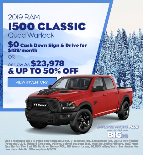December 2019 RAM 1500 Classic Quad Warlock