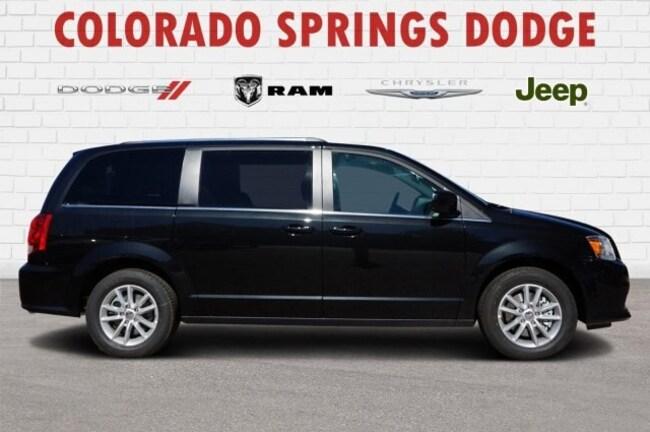 New 2019 Dodge Grand Caravan SXT Passenger Van in Colorado Springs, CO.