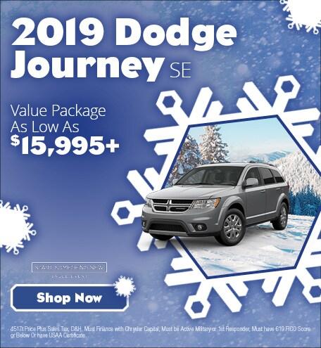 January 2019 Dodge Journey SE