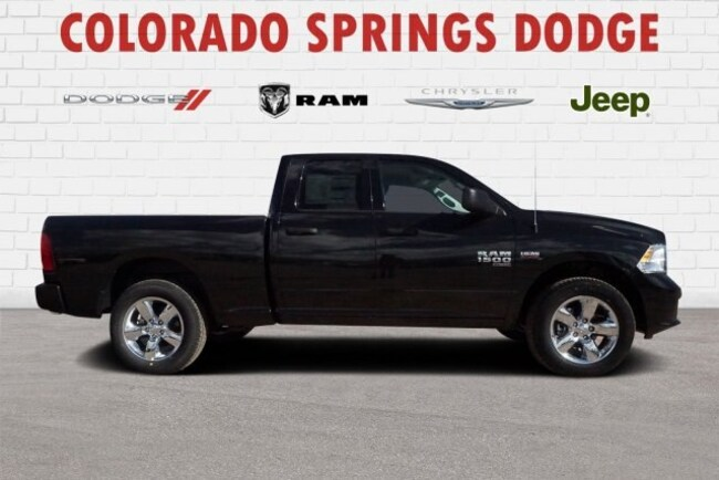New 2019 Ram 1500 Classic Express Quad Cab in Colorado Springs, CO.