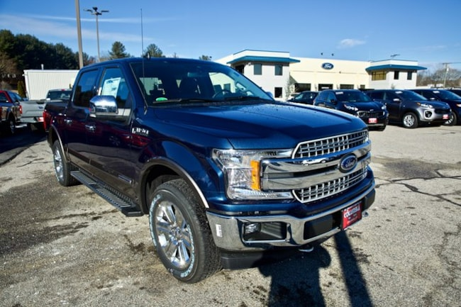 2019 Ford F-150 Lariat w/501A, Gvwr, Trl Tow, Chrome PKG Truck SuperCrew Cab