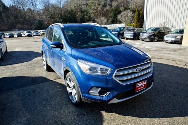 2019 Ford Escape Titanium w/400A, Smart/Safe, Panoramic Roof SUV