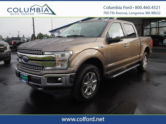2018 Ford F-150 Lariat Truck SuperCrew Cab for sale in Longview WA