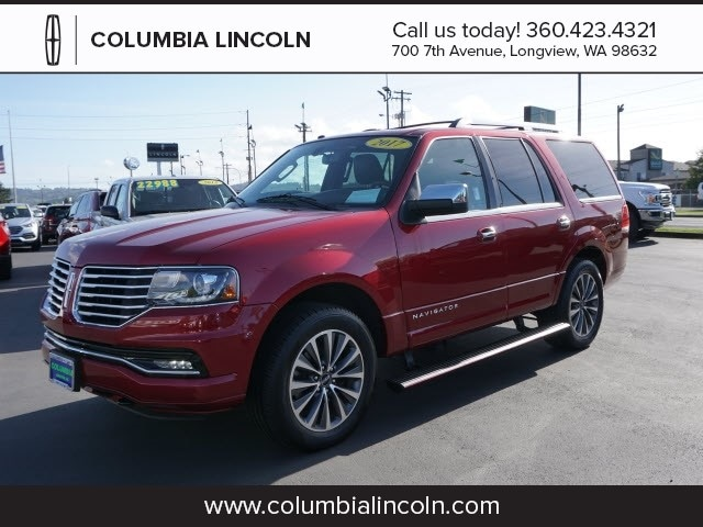 2017 Lincoln Navigator Select 4x4 Select  SUV