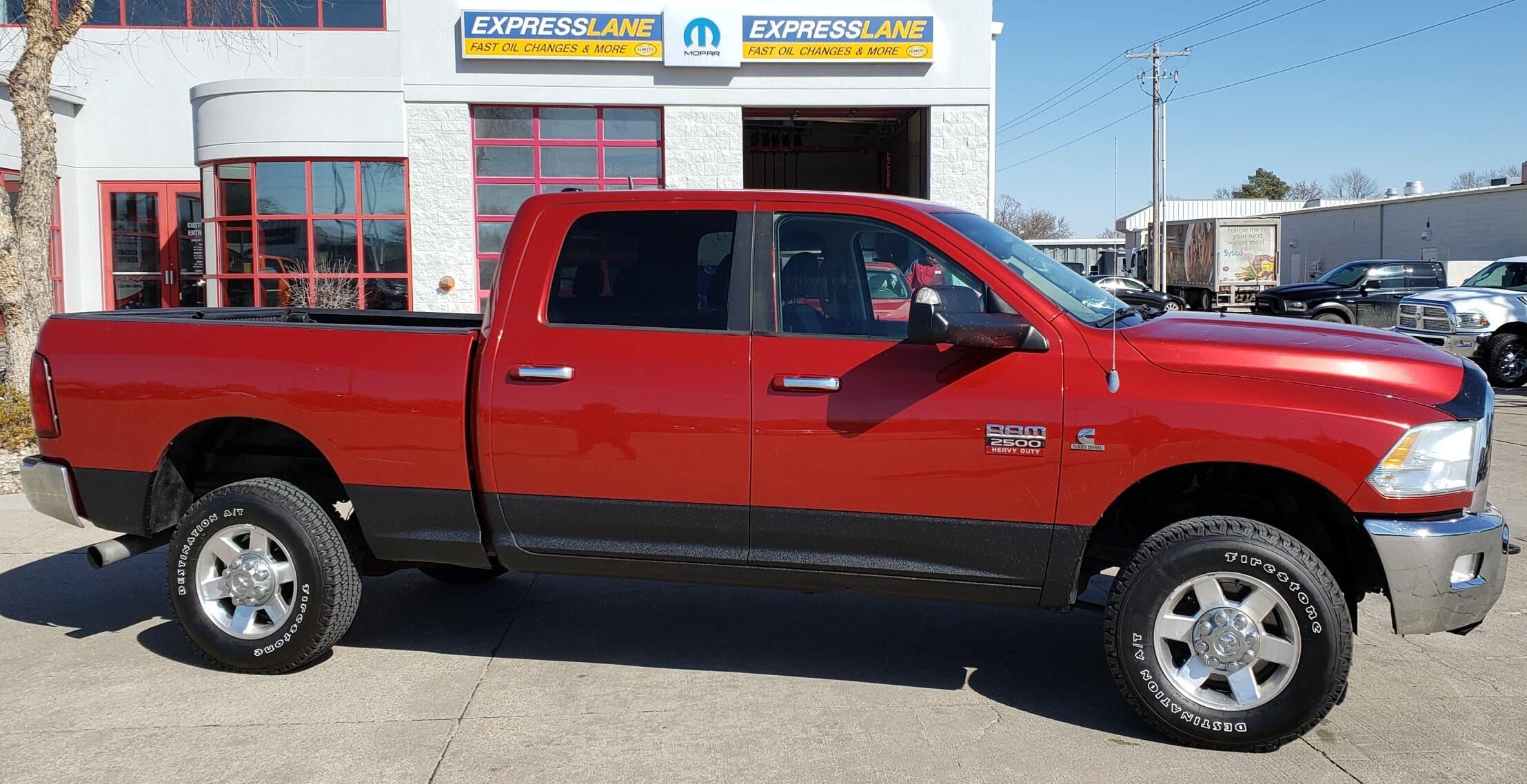 2010 Dodge Ram 2500 SLT Truck Crew Cab