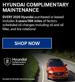 Hyundai Complimentary Maintenance