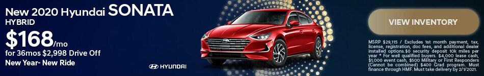 New 2020 Hyundai Sonata Hybrid