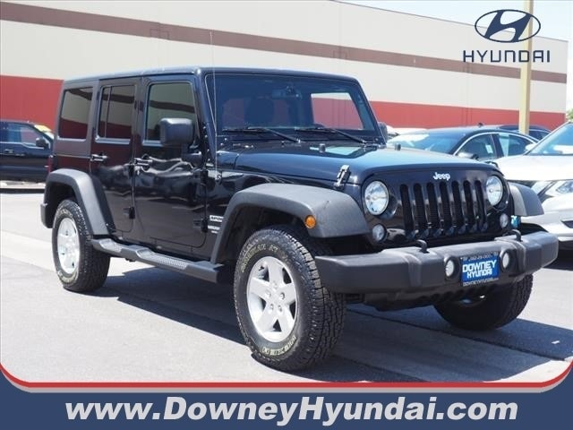 2016 Jeep Wrangler Unlimited Sport SUV