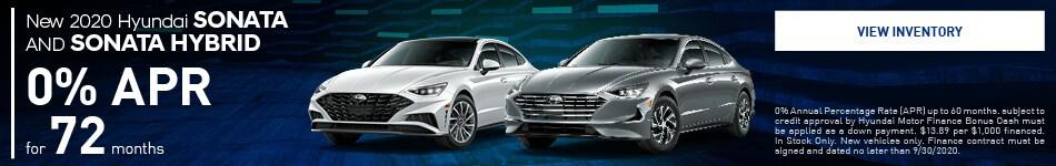 New 2020 Hyundai Sonata AND Sonata Hybrid
