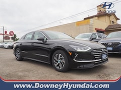 2021 Hyundai Sonata Hybrid Blue Sedan for Sale Near Los Angeles