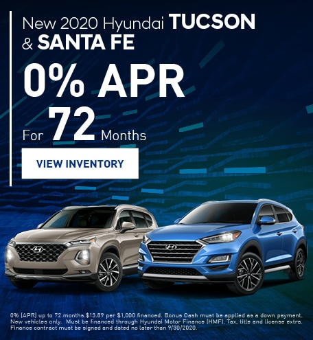 New 2020 Hyundai Tucson & Santa Fe