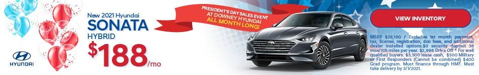 New 2021 Hyundai Sonata Hybrid