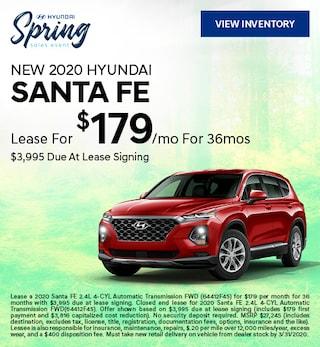 March 2020 Santa Fe Lease