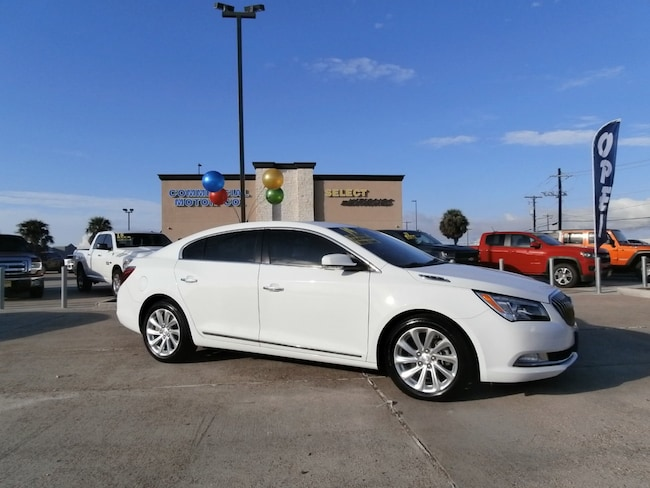 used 2014 buick lacrosse for sale at commercial motor company | vin