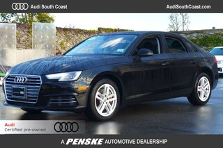 Certified Pre-Owned 2017 Audi A4 2.0T Premium Sedan for Sale in Santa Ana, CA
