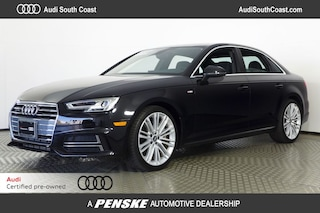 Certified Pre-Owned 2017 Audi A4 2.0T Premium Plus Sedan for Sale in Santa Ana, CA