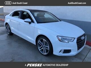 New 2019 Audi A3 2.0T Premium Sedan for Sale in Santa Ana, CA