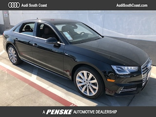 New 2018 Audi A4 2.0T Tech ultra Premium Sedan 27552 Santa Ana CA