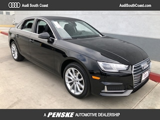 New 2019 Audi A4 2.0T Premium Sedan for Sale in Santa Ana, CA