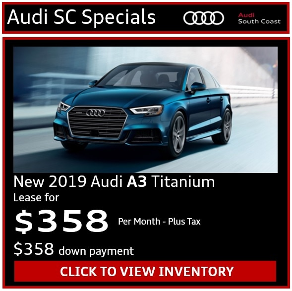 Audi South Coast Special Offers on New and Used Luxury Cars